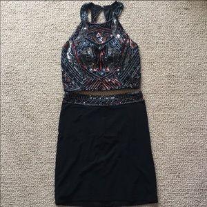 Two Piece Formal Dress